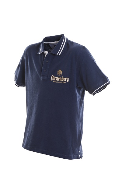 Polo Shirt Blau